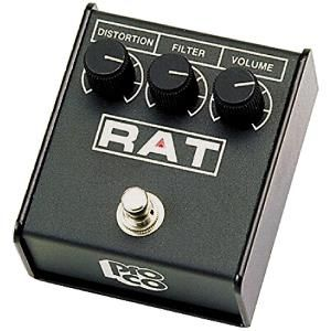 Pro Co Rat 2 Distortion Pedal - selected by GuitarSite.com as one of the Top 10 Distortion Pedals.
