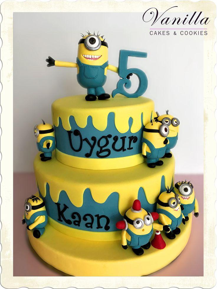 Minions Pastası, Minions Cake