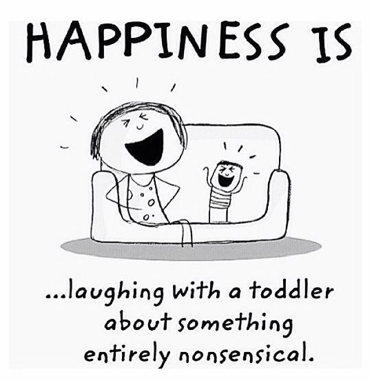 "Absolutely! Like when my grandson says "" Grandad, tractor!"" & my husband replies""NOooooo"" & they both burst out laughing😆😆😆😆😍👍"