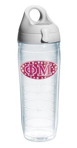 Phi Mu Tervis Water Bottle SALE $24.95. - Greek Clothing and Merchandise - Greek Gear®