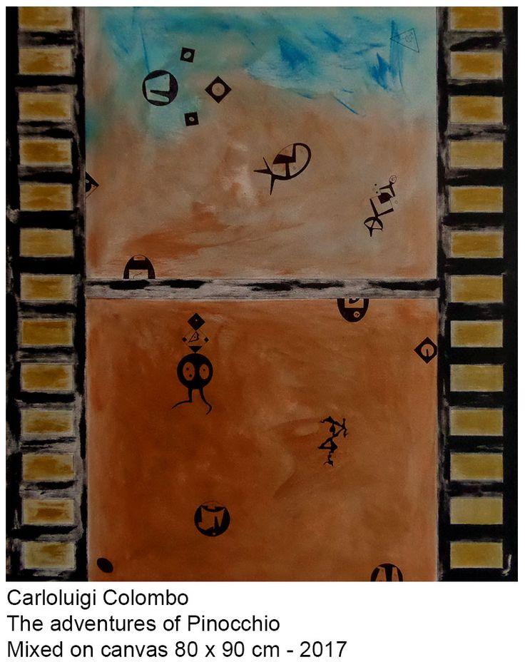 Pinocchio, painting, art, acrylic, Riolo Terme, Faenza, Italy, esorinism, italy, Borgo Rivola, cinema, film