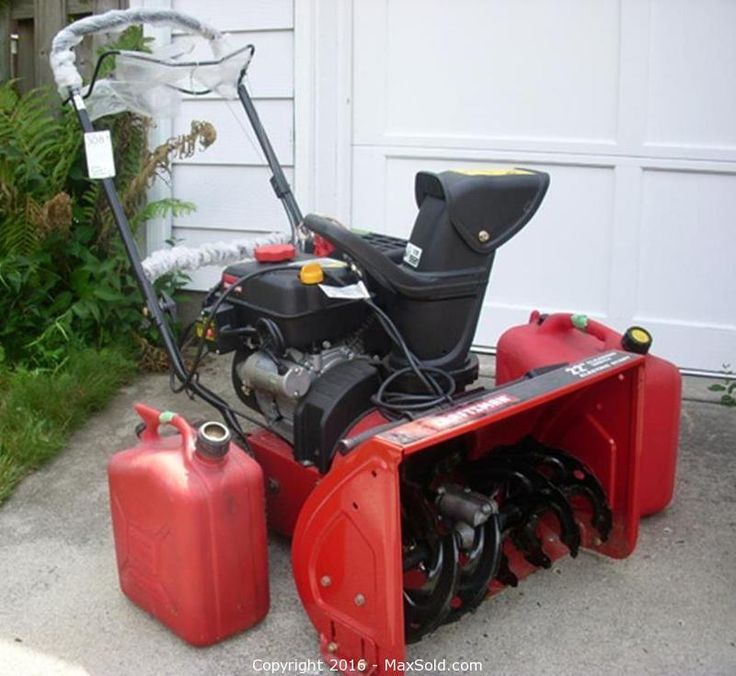 Craftsman Snow Blower and more in Toronto Online MaxSold Auction. Bid online now!