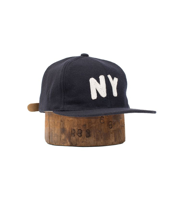 The New York Knickerbockers were recognized as the baseball team who introduced the ball cap to the game. Though the silhouette took on a different appearance from what we present you with today, we wanted to bring back the cap in a version of our own.