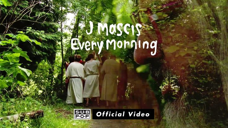 J Mascis - Every Morning (Official Music Video)