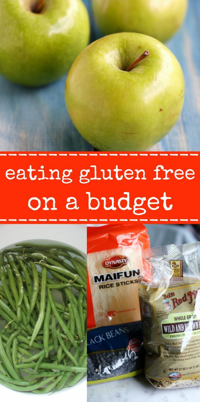 Eating a gluten free diet does NOT have to break the bank! Tips and tricks to save money while eating gluten free.