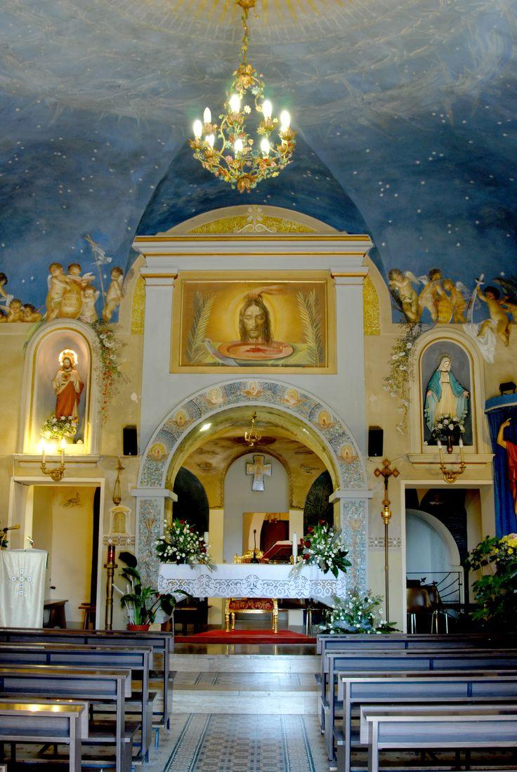 Chiesa di S Giovanni Battista interni #marcafermana #monteurano #fermo #marche