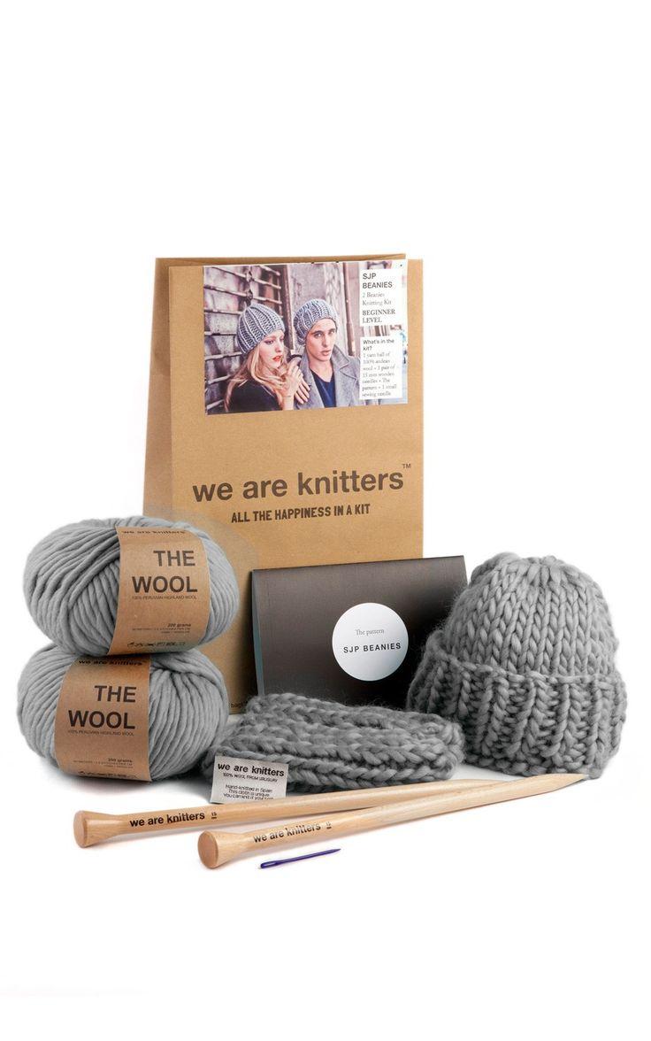SJP Beanies - Buy Wool, Needles & Yarn Hats - Buy Wool, Needles & Yarn Knitting kits | WE ARE KNITTERS