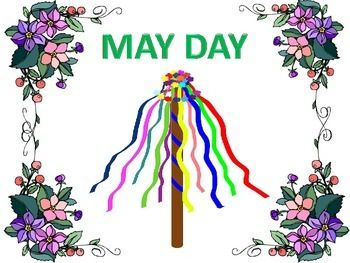 This is a great little package jam packed with things to learn about and do for May Day. The text tells about the astronomical and seasonal significance of May day, details about the maypole and dances, the history of May Day and its different celebrations, and May Day customs in the United States.