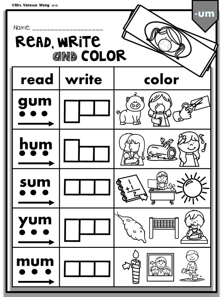 Phonics Activities And Worksheets For Kindergarten And First Grade Phonics Cvc Phonics Worksheets Cvc Worksheets Kindergarten