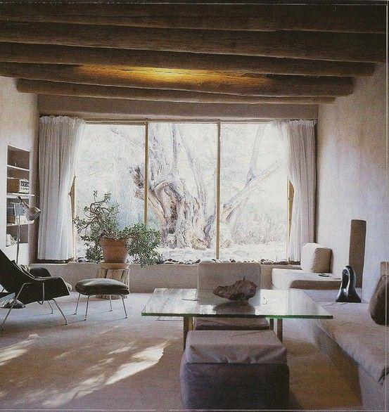 Georgia O'Keeffe's Home via Western Interiors
