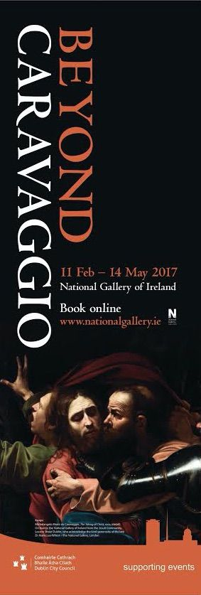 'The Taking of Christ' Caravaggio at the National Gallery of Ireland  #BeyondCaravaggio #civicmedia2017