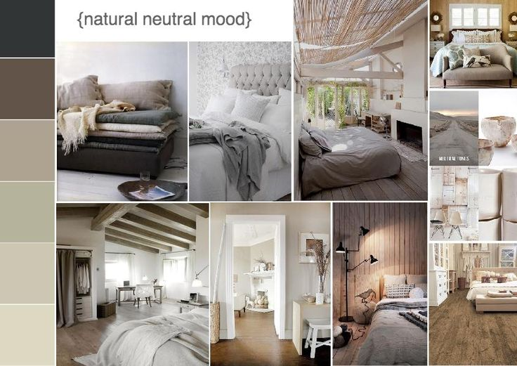 Natural Neutral Inspired Interiors Moodboard