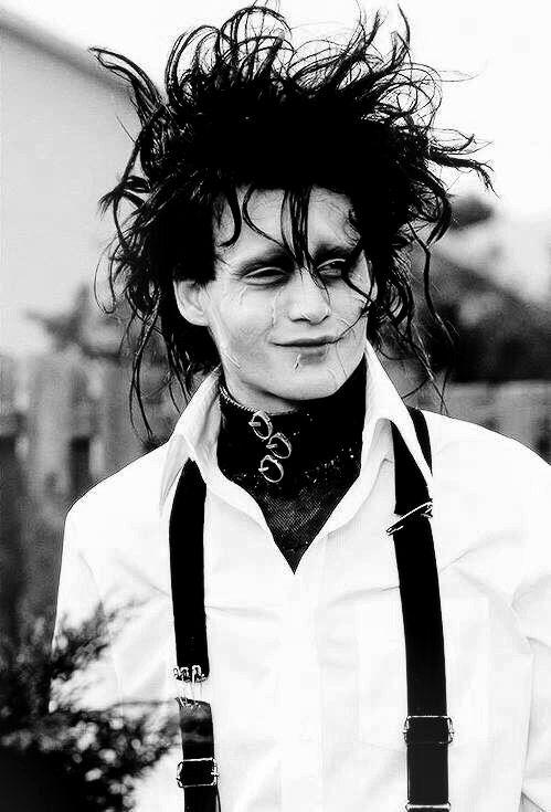 [Movie] Edward Aux Mains d'Argent Fan Art (Edward Scissorhands) - Johnny Depp