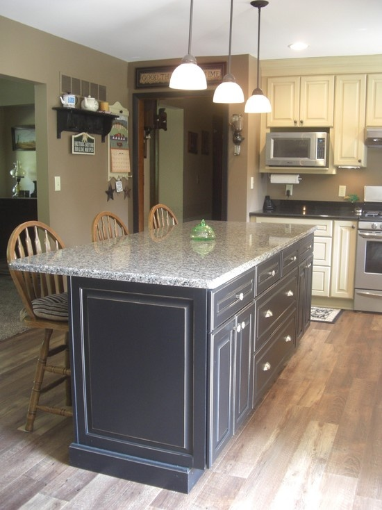 1000 Ideas About Black Distressed Cabinets On Pinterest