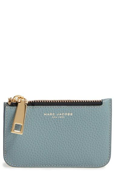 Main Image - MARC JACOBS 'Gotham' Pebbled Leather Key Pouch