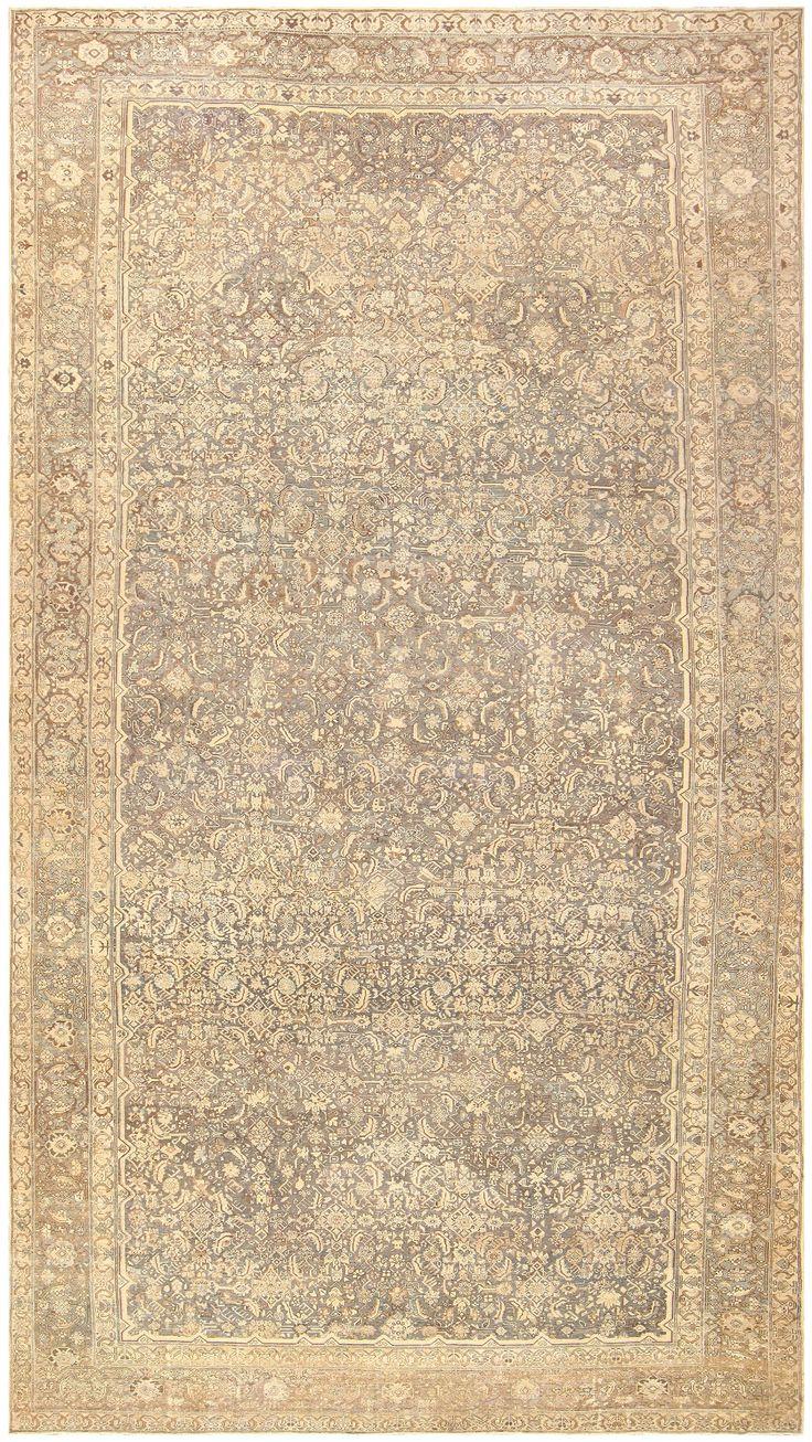 Antique Oversized Persian Malayer Carpet 46139 Main Image - By Nazmiyal