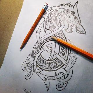 Celtic Hammer Club Blog: Celtic - Norse Art