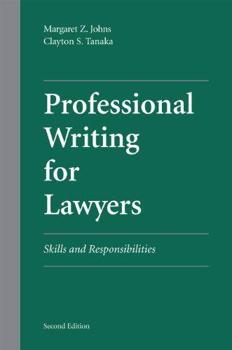 legal english writing