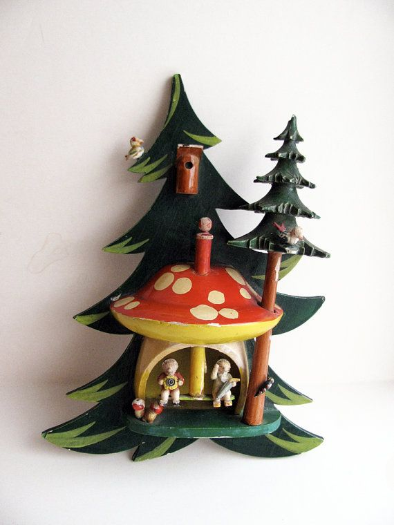 Vintage Steinbach Germany Christmas Tree & by OldenDayJoy on Etsy