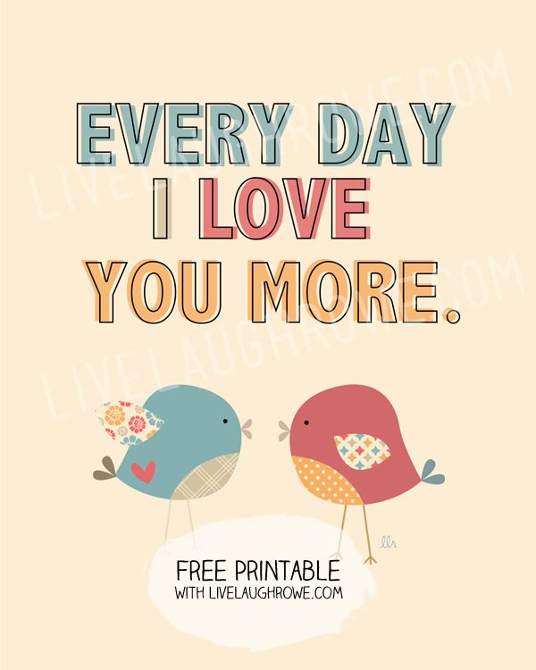 I Love You Everyday Quotes : ... Love You on Pinterest In love, Love sayings and Madly in love quotes