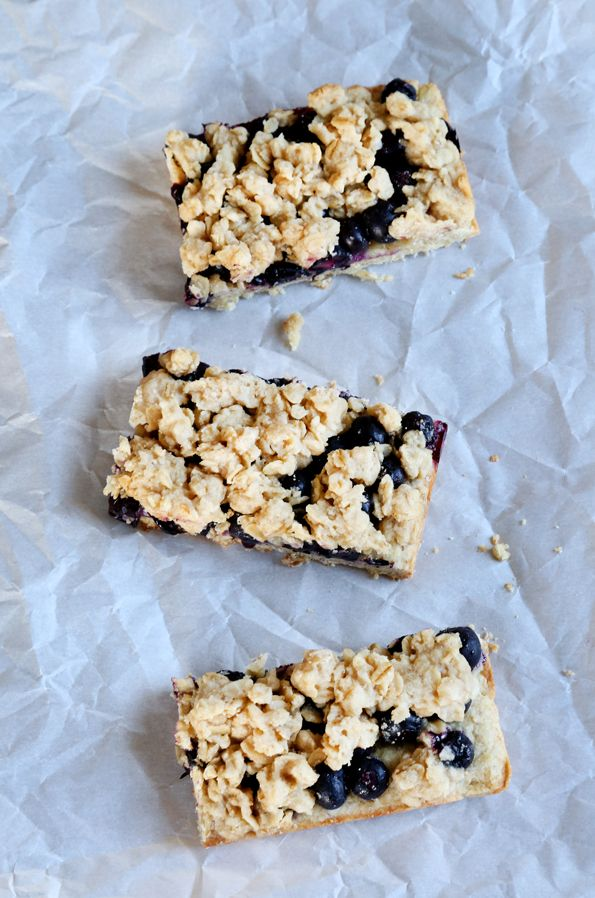 Starbucks-Style Gluten Free Blueberry Oat Bars! I have her cookbooks and love her recipes. I know these will be fantastic : )
