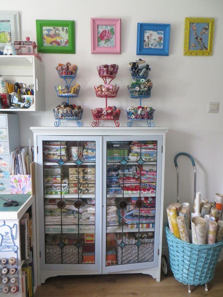 My sewing room - Lazy Daisy Jones