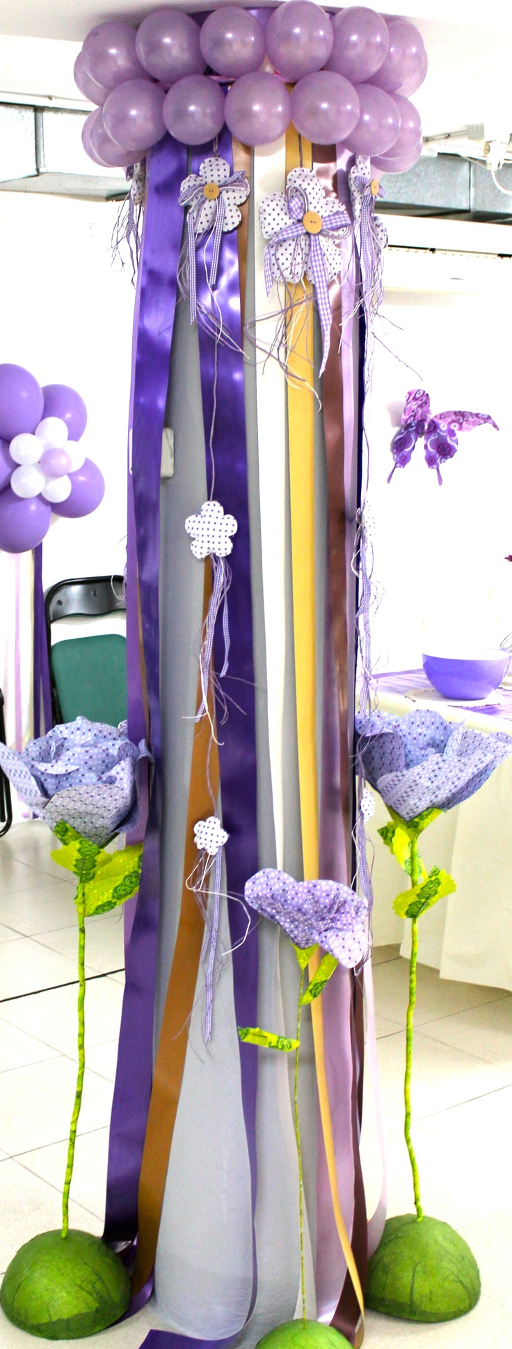 2318 best balloon ideas images on pinterest anniversary - Como decorar columnas ...