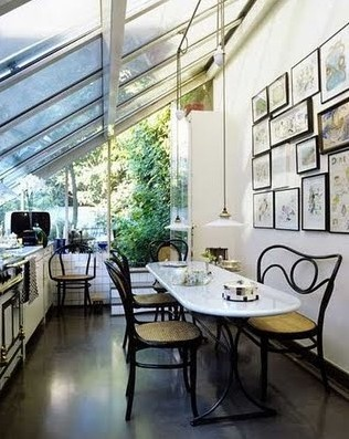 something like this? a lean-to conservatory would let in the most light from the south-west