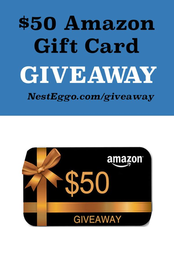 Want to win $50 Amazon Gift Card? I just entered to win and
