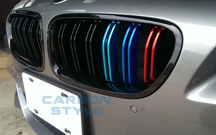 Metal Look BMW F10/f11 Sedan/Touring Shiny Black M5 Style Front Grills M Color | eBay