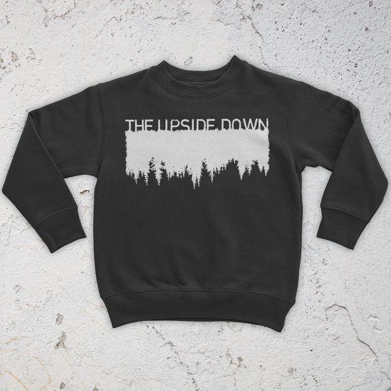 The Upside Down Sweatshirt Stranger Things by woeandshucks on Etsy