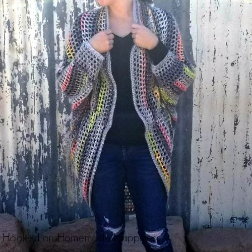 I really enjoy making cocoon sweaters. They're super easy to make and there are endless possibilities. Trust me when I say, any crocheter can make this sweater! If you can crochet a rectangle, you can make a cocoon sweater. I am obsessed with the yarn I used for this project. I used Yarn Bee's Urban …