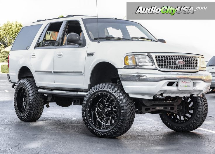 Ford Expedition Off-Road | 1998 Ford Expedition RBP Wheels Glock Gloss Black Milled Accents with ...