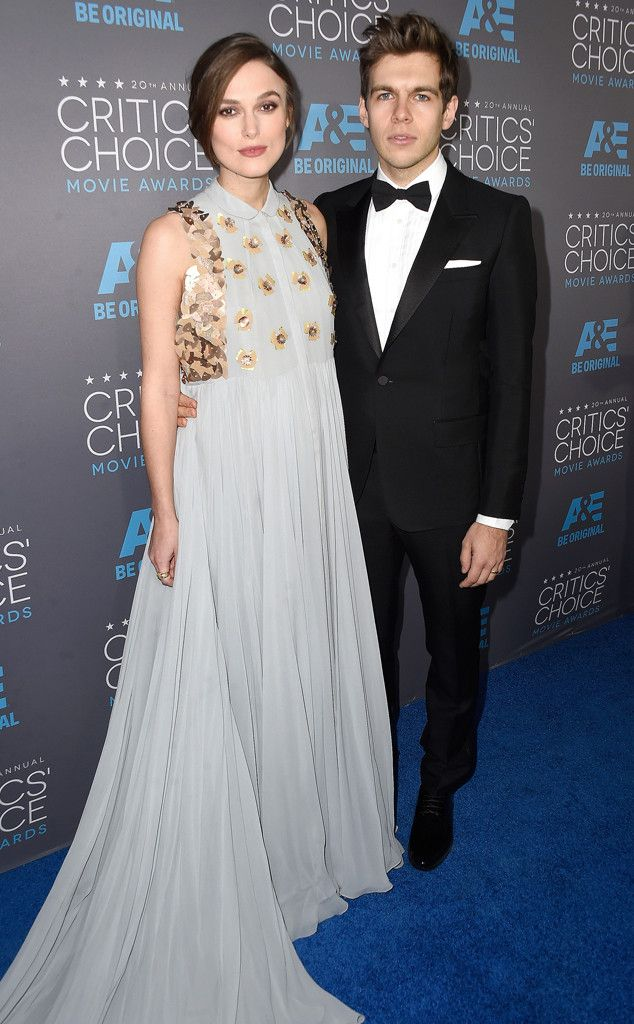 Expectant couple Keira Knightley and James Righton look beautiful at Critics' Choice Awards!