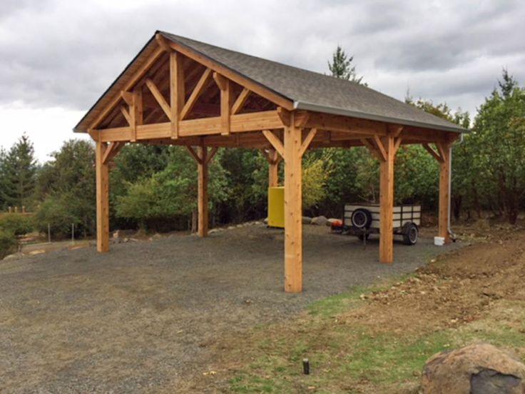 Building an Easy DIY RV Cover in 2020 Pergola carport