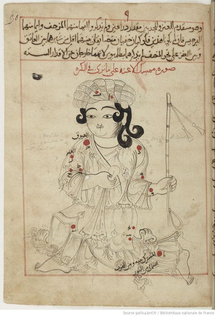 Auriga (mumsik al-a'innah), the charioteer. (Constellations of the northern hemisphere). Catalogue d'étoiles, suivi de maximes et d'un traité de cosmogonie