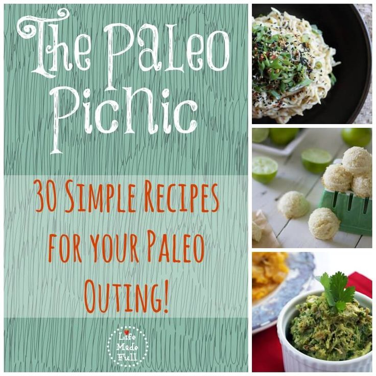 The Paleo Picnic (30 simple recipes for your Paleo outing!)