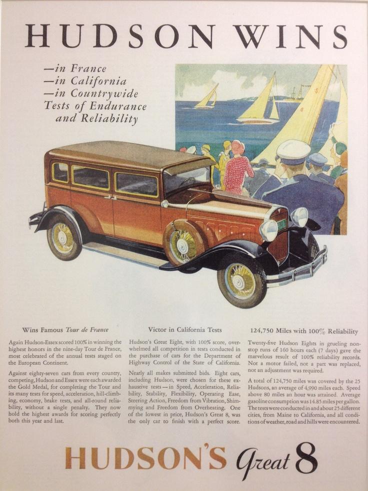 31 best Vintage Car Ads images on Pinterest | Autos, Car advertising ...