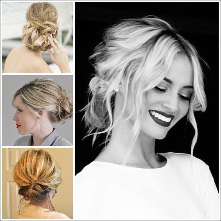 Best 25 Medium Updo Hairstyles Ideas On Pinterest: 25+ Beautiful Medium Length Updo Ideas On Pinterest