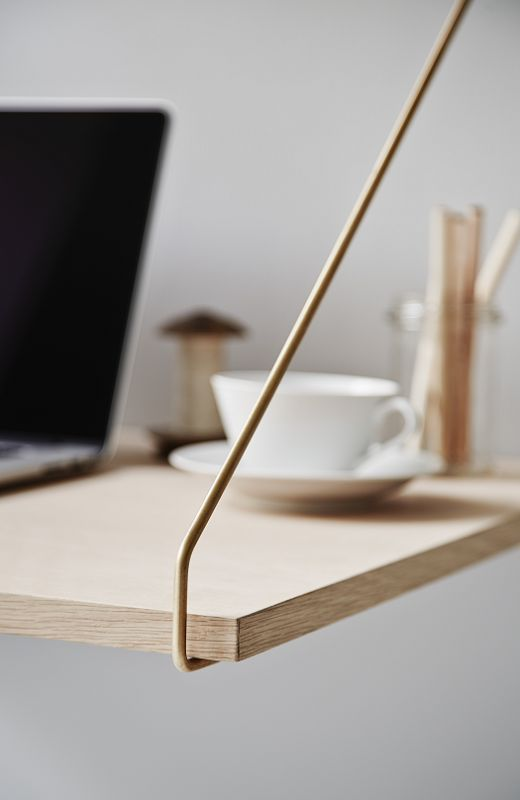 shelf + desk - minimalistic and beautiful /