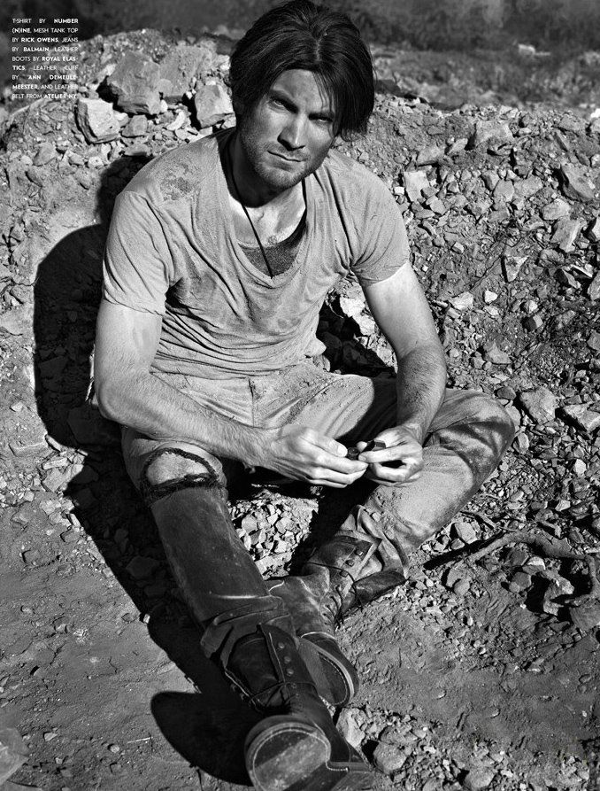 Wes Bentley, FLAUNT Magazine Issue 120, Groomed by Jhizet Panosian.