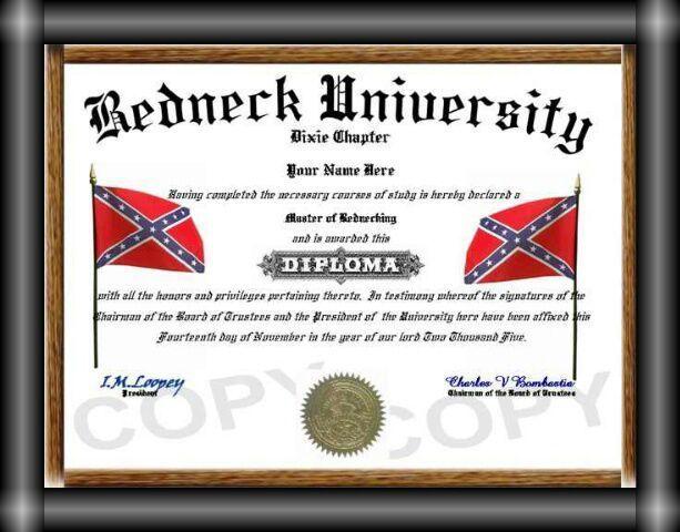 redneck university diploma digital wireless   redneck university diploma digital wireless listia com signup 3076712 university diploma