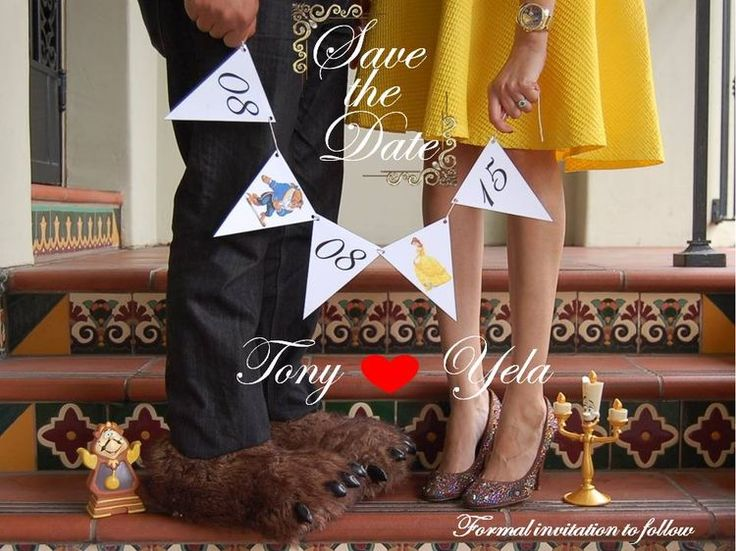 Beauty & the Beast, save the date