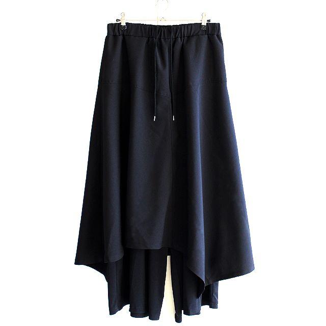 アシメロングスカート付きワイドパンツ | メンズスカートなどモード系ファッションの通販 albino
