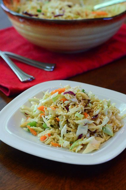 Ramen Cabbage Salad by From Valerie's Kitchen @Valerie | From Valerie's Kitchen