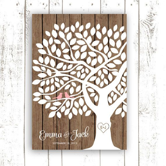 Hey, I found this really awesome Etsy listing at http://www.etsy.com/listing/159331249/guest-book-tree-rustic-modern-wedding