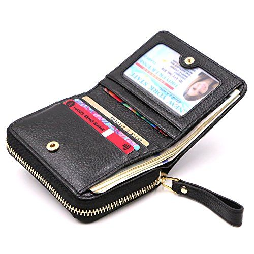 Kinzd Accordion Wallet RFID Leather Card Wallet for Women Credit Card Holder - http://www.darrenblogs.com/2017/02/kinzd-accordion-wallet-rfid-leather-card-wallet-for-women-credit-card-holder/