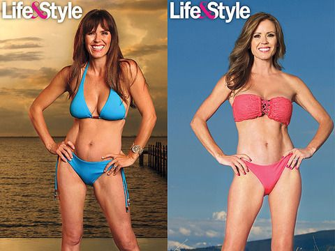 """Former """"The Bachelorette"""" star Trista Sutter is happy to show off her new body!"""