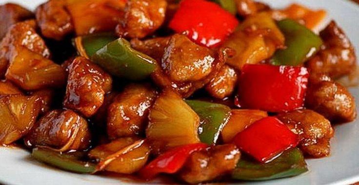 Mäso na thajský spôsob - Receptik.sk