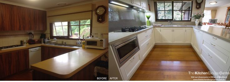 Before & After - Traditional Kitchen